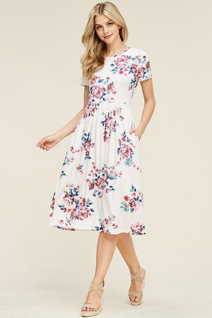 Time to Blossom Floral Dress