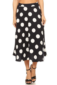 Polka Dot Ball Gown (BLK)