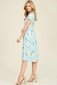 Mindy Floral Dress