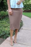 "24"" Coco Ultra Comfort Ponte Knit Skirt"