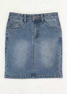 GIRLS Carly Denim Skirt