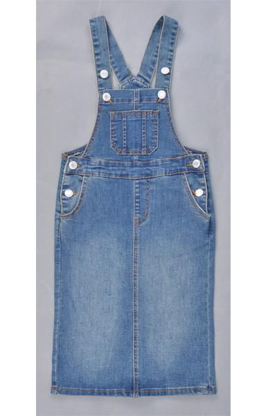 GIRLS Bree Denim Overalls (Vintage)