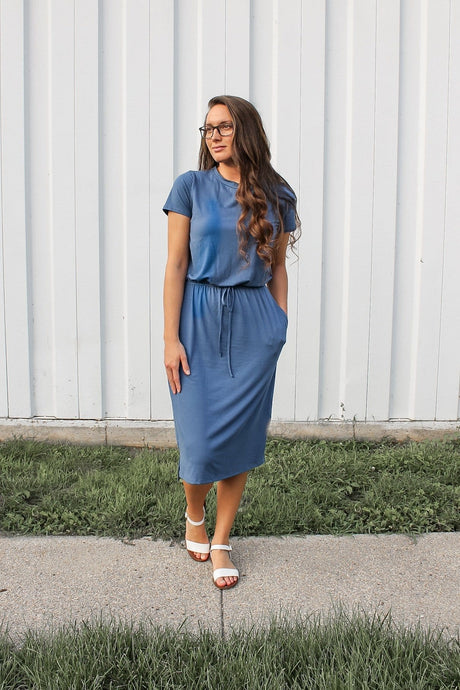 Riverside Blue Lounge Dress