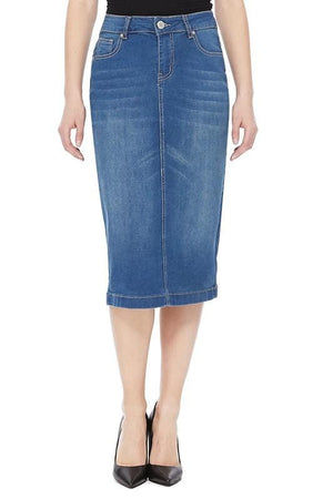 Kendall Vintage Denim Skirt