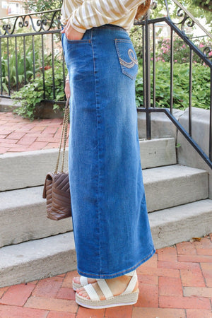 Michelle Denim Skirt