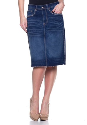 Emma Denim Skirt