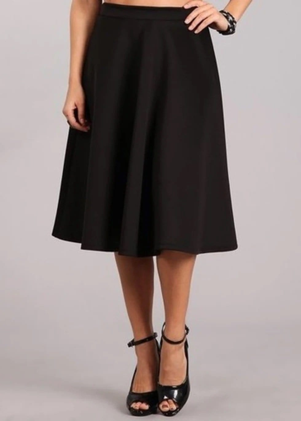 Black Ball Gown Skirt