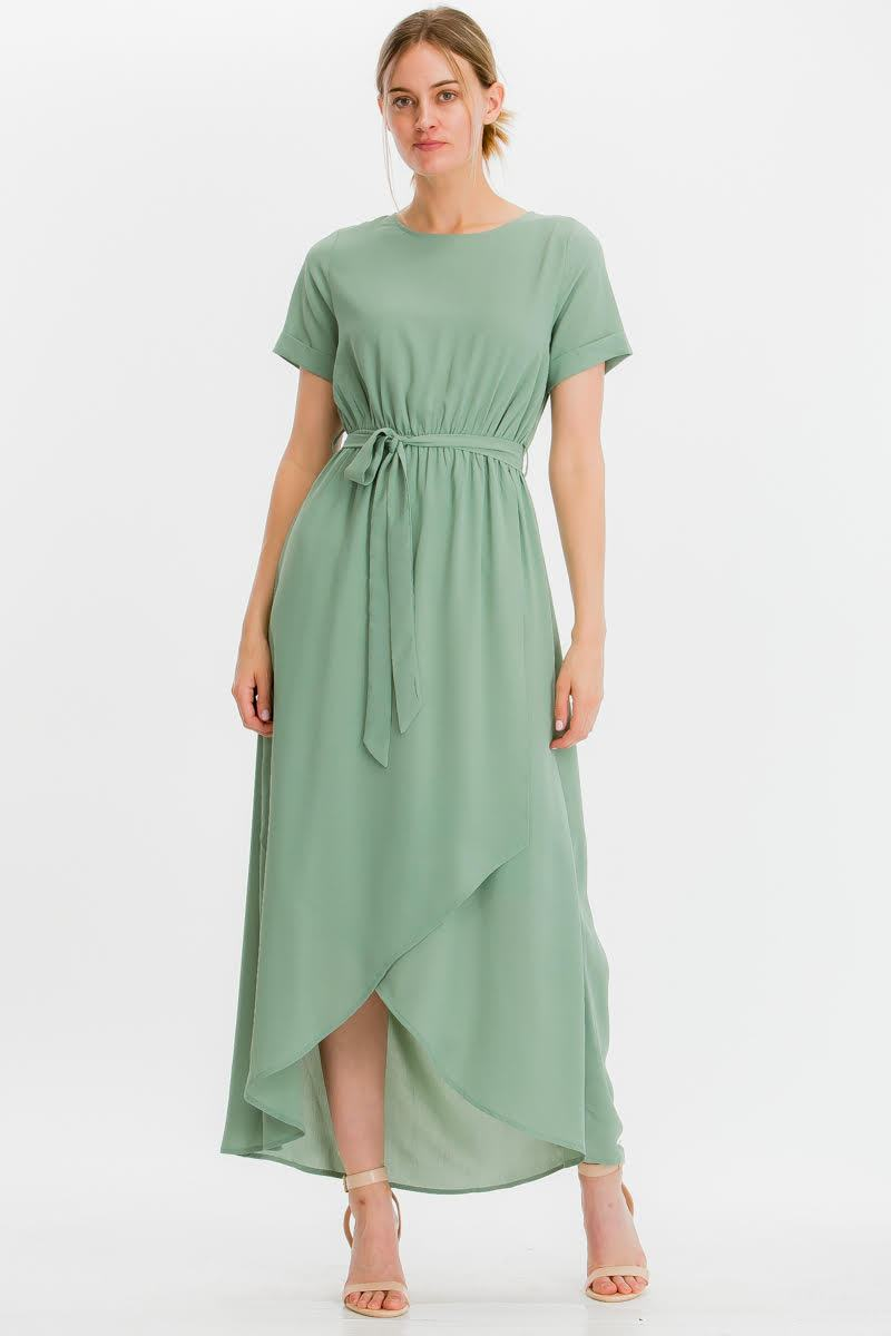 Endless Love Chiffon Maxi Dress (Mint)