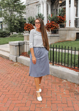 Remi Lt. Denim Skirt