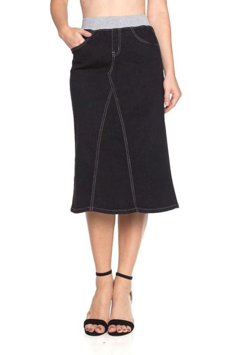 Karla Black Denim Skirt