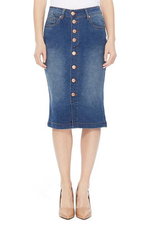 Lexi Denim Skirt (Vintage)