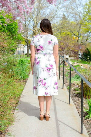 Lanai Floral Dress (Lavender)