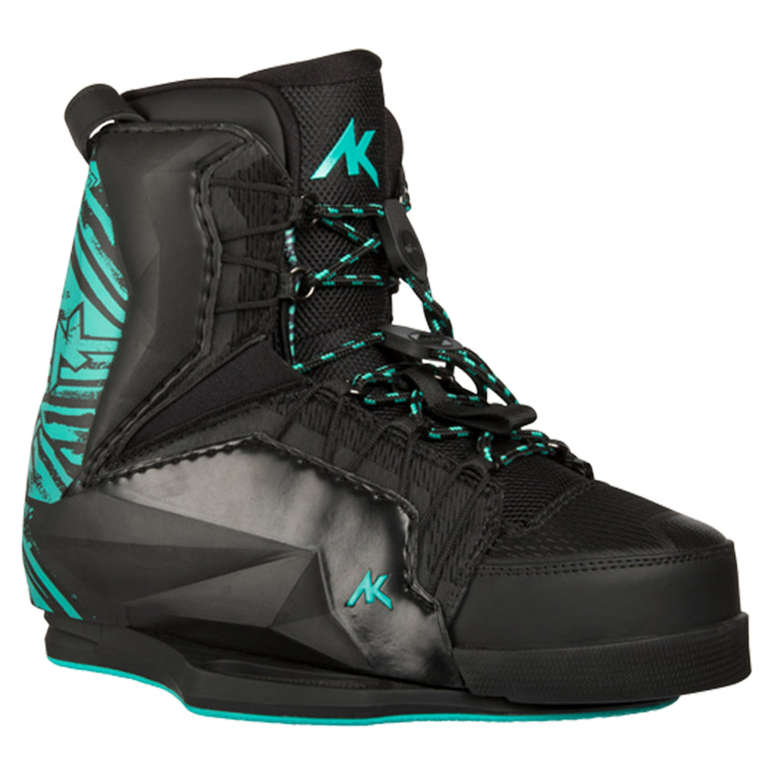 AK Team Black Bindings