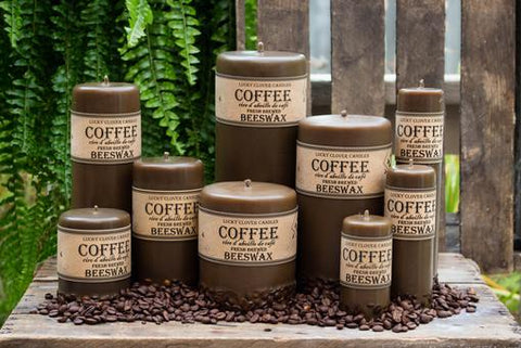 Lucky Clover Candles-Coffee