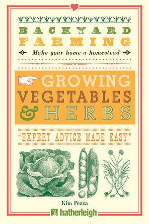 Penguin Random House Book-Backyard Farming: Growing Vegetables and Herbs
