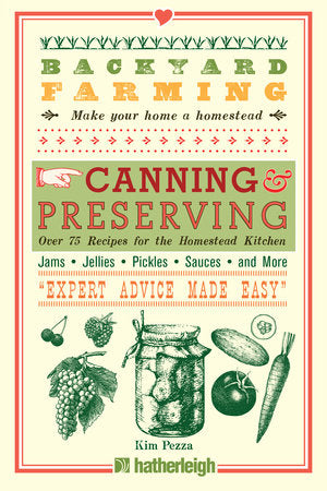 Penguin Random House Book-Backyard Farming: Canning and Preserving
