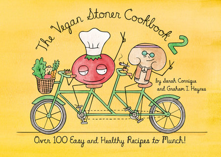 Penguin Random House Cookbook-The Vegan Stoner Cookbook 2