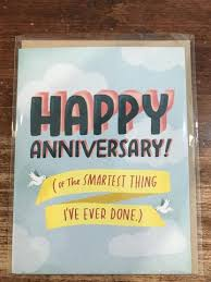 Emily McDowell Anniversary Card-Smartest Things