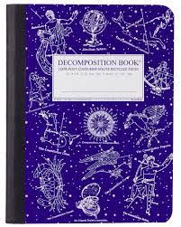 Michael Roger Decomposition Book-4x6-Lined