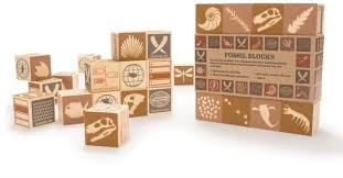 Uncle Goose Blocks-Fossil