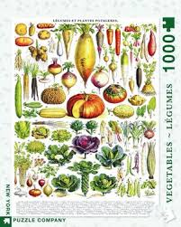 New York Puzzle Company 1000 Piece Puzzle-Vegetables