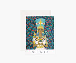 Rifle Paper Co. Blank Card-Nefertiti