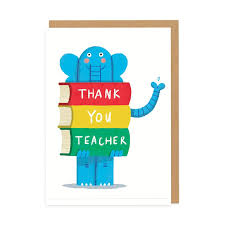 Ohh Deer Thank You Teacher Card-Thank You Teacher