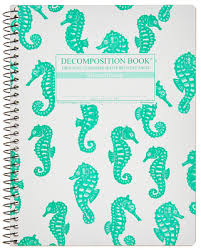 Michael Roger Coilbound Decomposition Book-Blank Pages