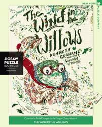 New York Puzzle Company 500 Piece Puzzle-Wind in the Willows