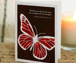 Compendium Get Well Card-With the New Day Ahead Comes New Strength and New Thoughts