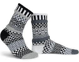 Solmate Socks Crew Socks-Midnight