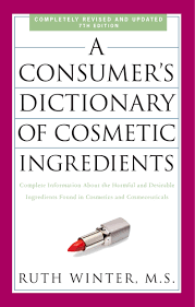 Penguin Random House Book-A Consumer's Dictionary of Cosmetic Ingredients