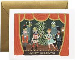 Rifle Paper Co. Christmas Card-Nutcracker Scene