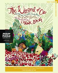 New York Puzzle Company 1000 Piece Puzzle-The Wizard of Oz