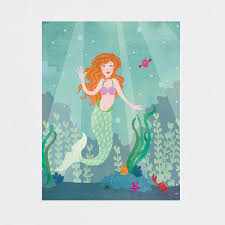 Art of Melodious Just For Fun Card-Mermaid