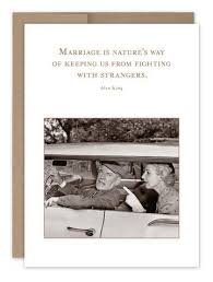 Shannon Martin Anniversary Card-Marriage is Nature's Way