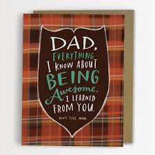 Emily McDowell Father's Day Card-Being Awesome Father's Day