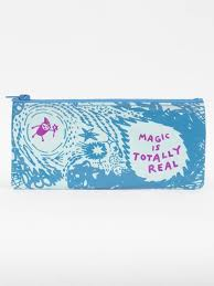 Blue Q Pencil Case-Magic is Totally Real