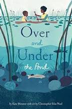 Raincoast Books Children's Book-Over and Under the Pond
