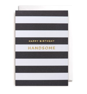 Lagom Birthday Card-Happy Birthday Handsome