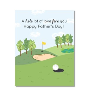 Designs by Val Father's Day Card-Fore You