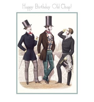 Museums & Galleries Birthday Card-Happy Birthday Old Chap