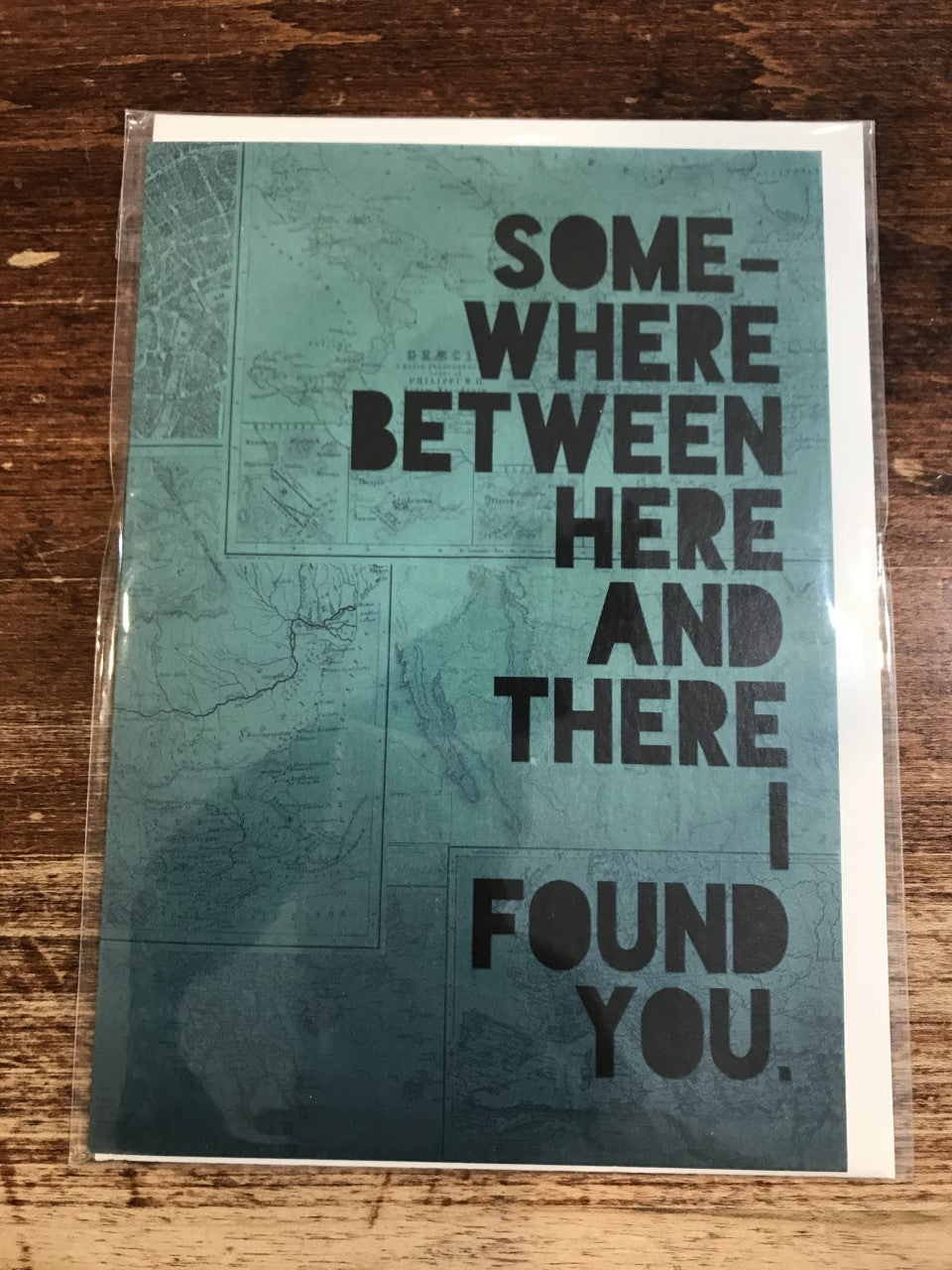 Lagom Design Blank Card-I Found You
