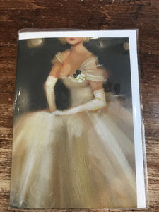 Calypso Wedding Card-Cotillion Dress