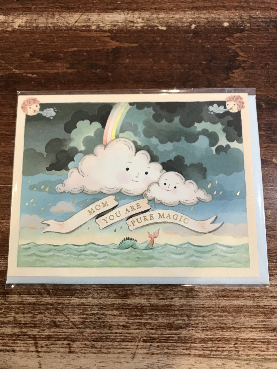 Joojoo Paper Mother's Day Card-Mother's Day Clouds