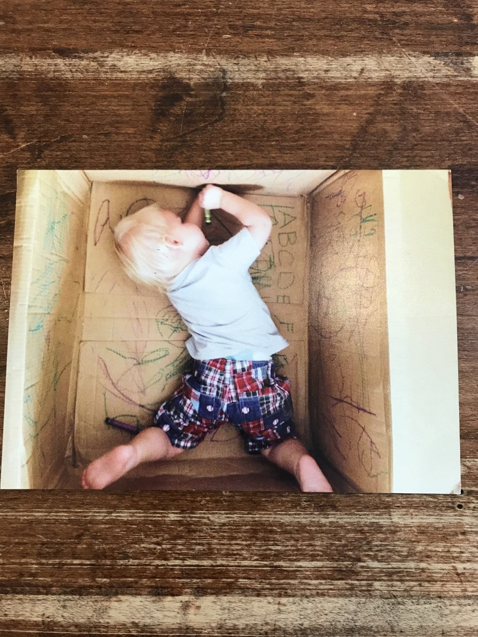 Retrospect Mother's Day Card-Kid in a Box
