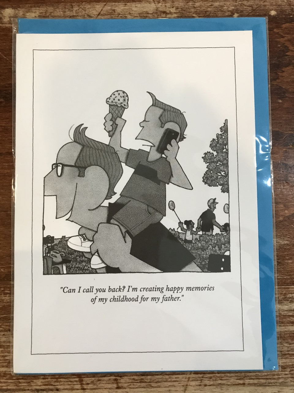 The New Yorker Father's Day Card-Can I Call You Back