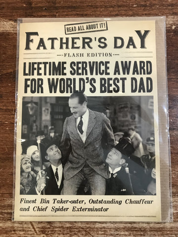 Pigments Productions Father's Day Card-Lifetime Service