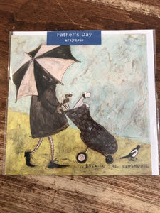 Art Press Father's Day Card-Back to the Clubhouse
