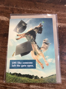 J&M Martinez Graduation Card-Kids Live